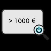 > 1000 € (0)