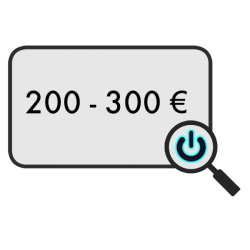 200 - 300 €