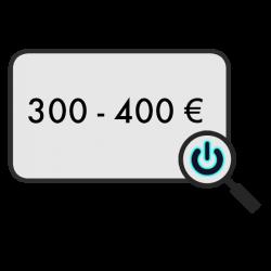300 - 400 €