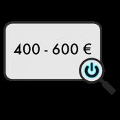 400 - 600 € (0)