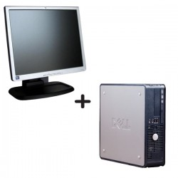 Combo Deal Dell 755 SFF + HP 17''